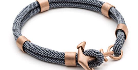 Mens Grey Para Cord Bracelet