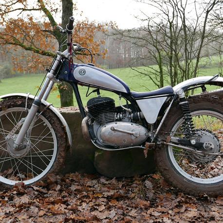CZ Trial 1961 265 ccm