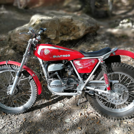 Bultaco Sherpa 250 1977 250 ccm