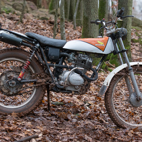 Honda TL125  1976 144 ccm