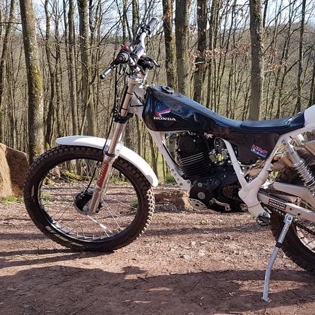 Honda TLR250 1985 250 ccm