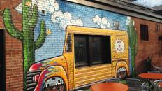 Graffiti Style Murals at Hot Taco