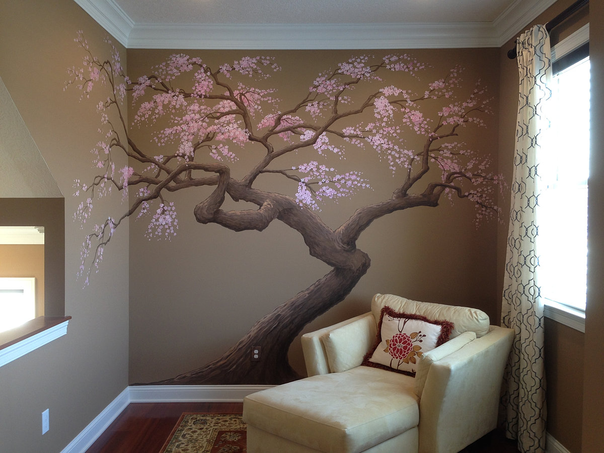 artisan rooms mural artist columbus ohio hand painted wall treatment custom designed and painted by artisan rooms see how it was done in the video section