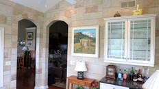Trompe L'oeil Brick Sunroom Mural