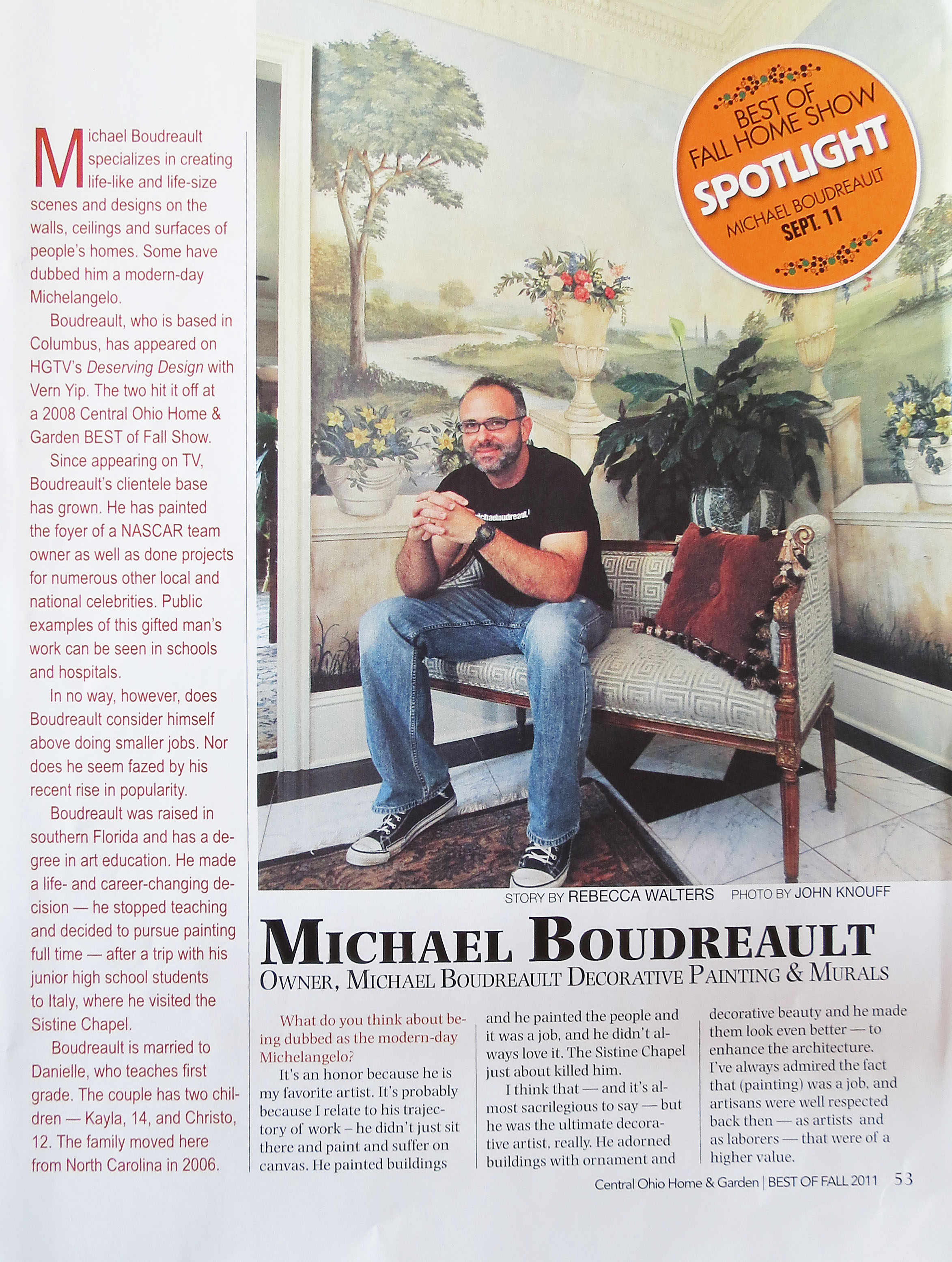 Michael Boudreault of Artisan Rooms