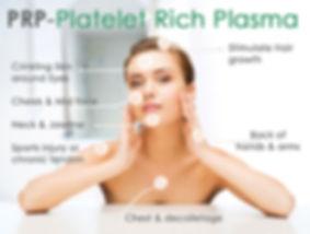 Platelet Rich Plasma in Lexington | Woman on PRP Graphic