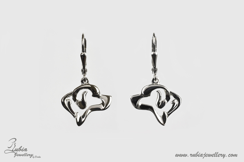 A.N. Labrador head earrings