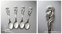 Paryura spoons