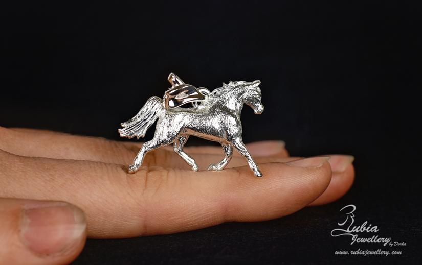 3D Arabian horse