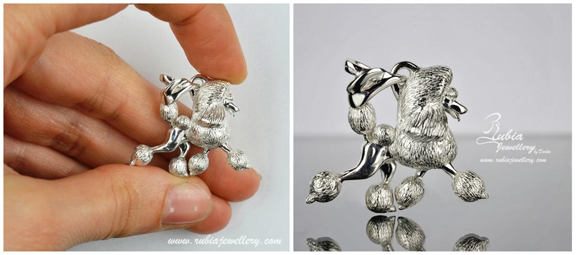3D Poodle in conti.clip in move