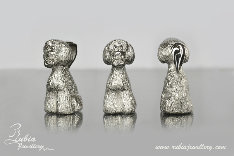 3D Poodle in Asian style clip