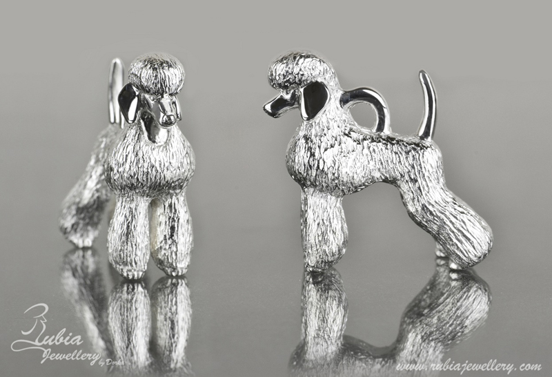 3D Poodle in scandinavian T-clip
