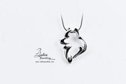 A.N. Samoyed head