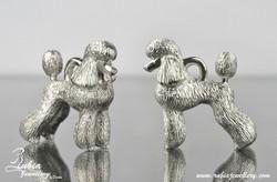 3D Poodle in modern clip