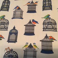 Blue Birdcages