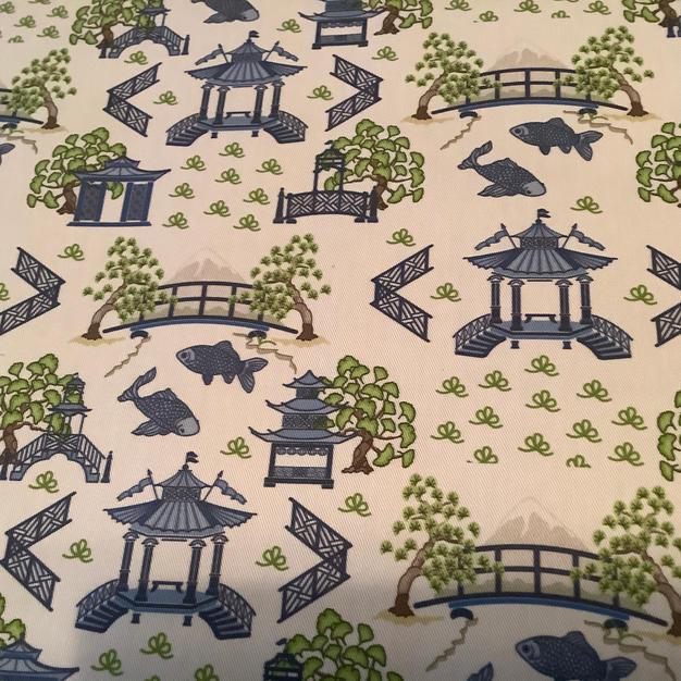 Blue Pagodas
