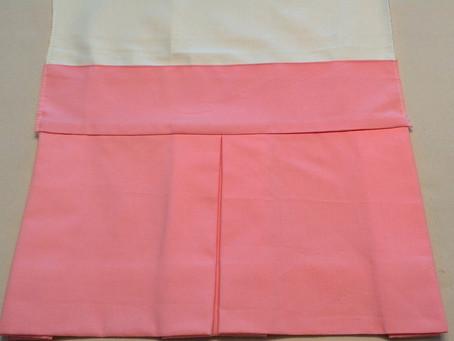 Bed Skirt Technique: No Visible Seams