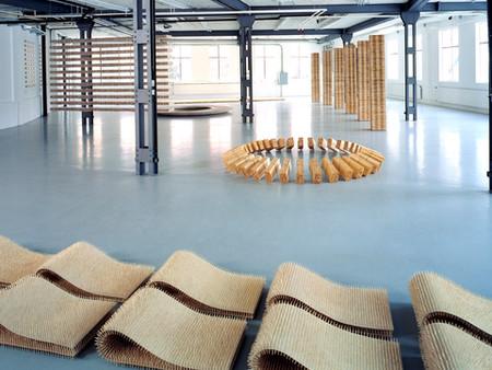 """Installation, """"Zwischenraum"""", IG Halle Rapperswil"""