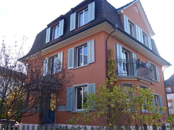 Farbkonzept, Fassade