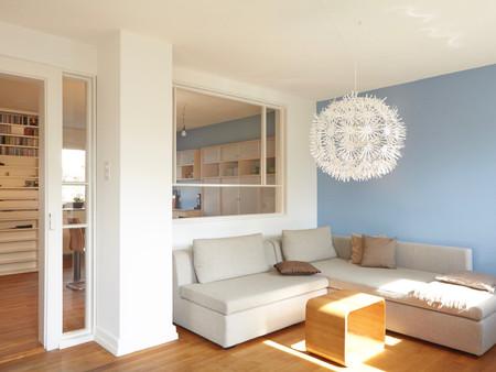 Umbau, Küche/Wohnen, Innenarchitektur/Möbeldesign, Farb/Materialkonzept