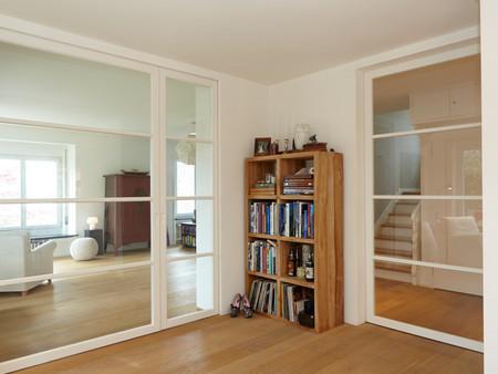 Umbau, Wohnen, Architektur, Innenarchitektur, Farb/Materialkonzept