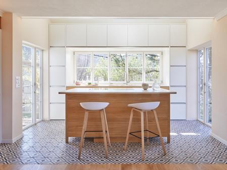 Anbau, Küche, Innenarchitektur/Möbeldesign, Farb/Materialkonzept