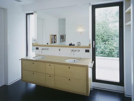 Umbau, Bad, Architektur, Innenarchitektur/Möbeldesign, Farb/Materialkonzept