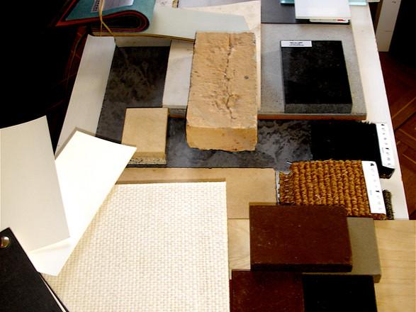 Wir erarbeiten Material- und Farbkonzepte