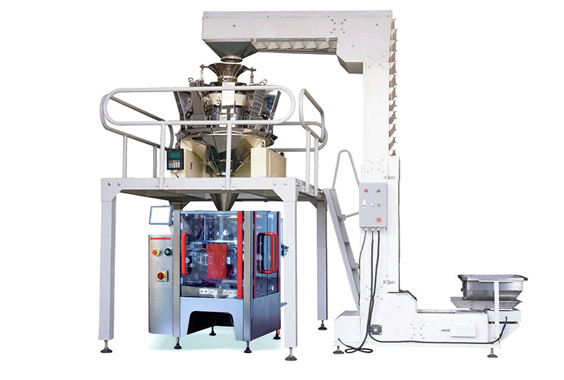 Fully Automatic Weighing and Packaging Combination Machine