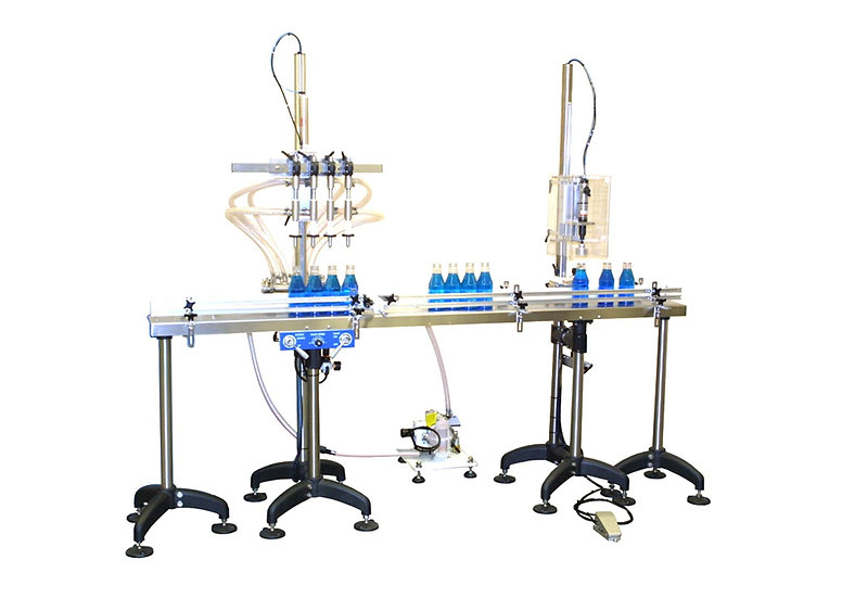 Filling & Capping Machine