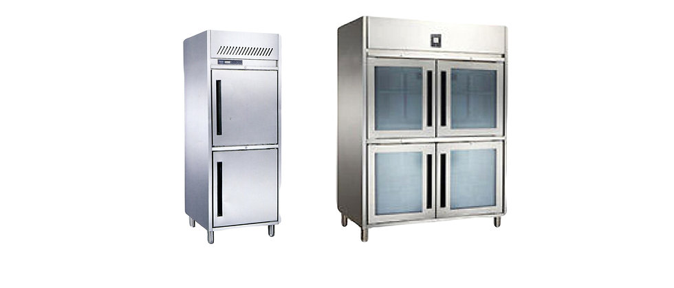 Upright Chiller & Freezer