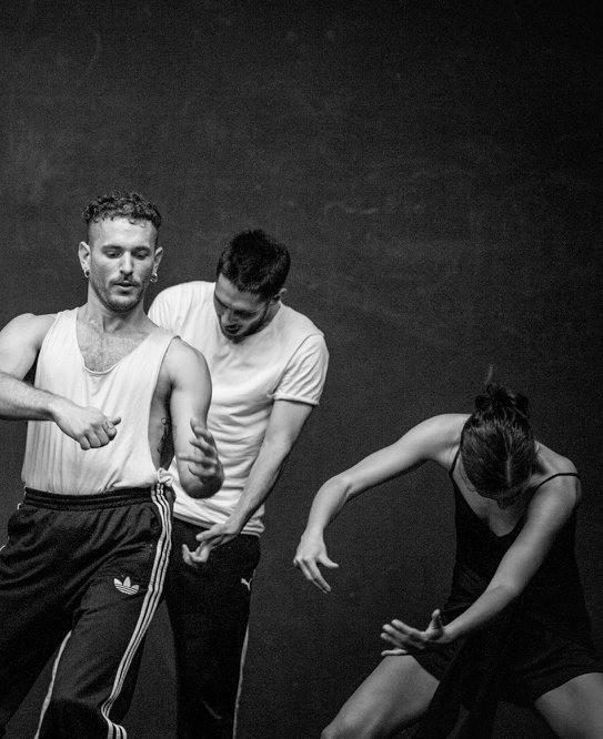 "Rehearsal "" SIEBEN"" Jill Crovisier"