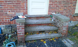 Deteriorating steps