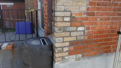 Brick corner - after