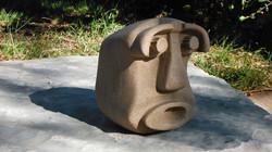 Abstract head 4 - original artwork