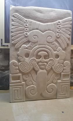 Mayan replica