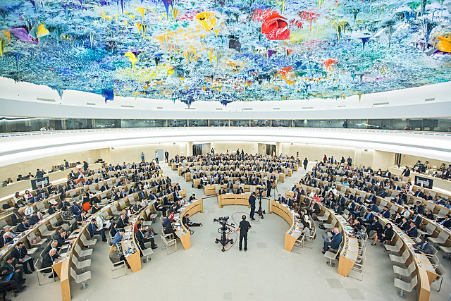 UNHRC special meeting on Palestine, May 18, 2018