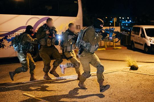 An IDF counter-terrorism unit in training, 2016