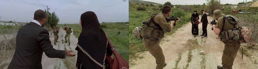 "The ""Checkpoint"" short film from both perspectives - Israeli and Palestinians"