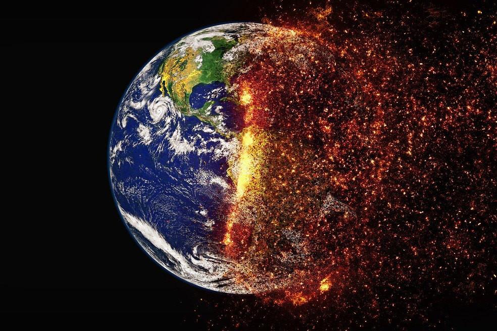 כדור הארץ בוער