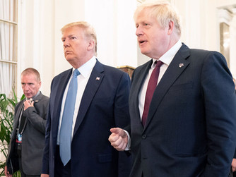 ממלכה במלכוד: בריטניה נלחצת בין טראמפ לביידן
