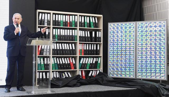 """רה""""מ נתניהו חושף את המסמכים האיראניים. מופע מרשים, השפעה מוגבלת"""