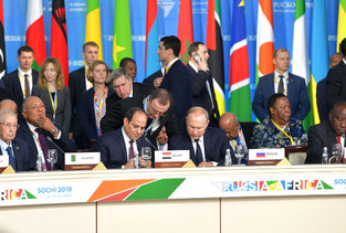 לעשות יותר עם (הרבה) פחות: רוסיה ככוח בינלאומי עולה באפריקה