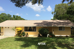 Shingle Roof Replacement-After