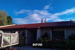Tile Roof Replacement Before