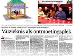 wezentuin noord hollands dagblad 29 oktober 2015