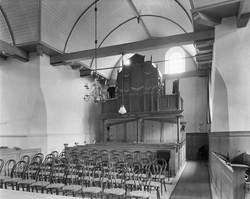 foto orgel maartenskerk uit 1968