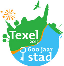 logo texel 600 jaar stad