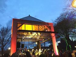 feestelijke opening #wezentuin #podium #denburg #park #texel #hetwachtenwaard