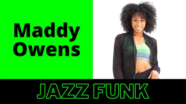 Virtual Dance Convention Jazz Funk